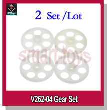 2Set V262-04 Gear set for WLtoys V262 V333 V666 RC Quadcopter Spare Parts