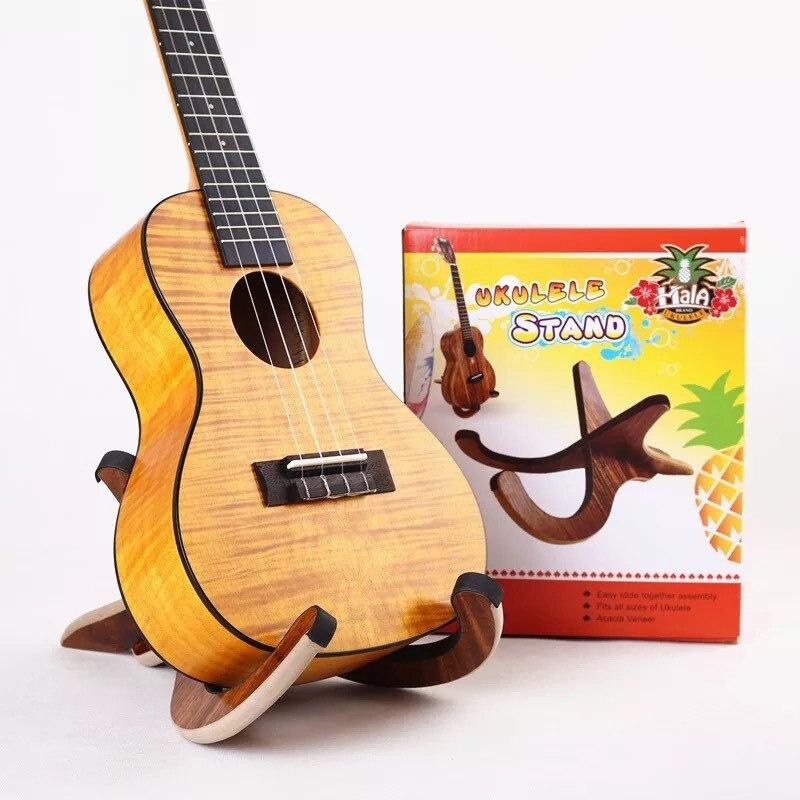 Solid Wooden Removable Stand Holder Frame For Violin Guitar Ukulele Banjo Mandolin<br>