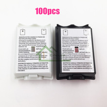 [100PC/ LOT] Black&White Optional Plastic Battery Pack Battery Cover Case Replacement for Xbox 360 Repair Part