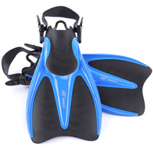 Adult Flexible Comfort Swimming Fins Submersible Long Swimming Flippers Snorkeling Foot Diving Fins Water Sports 42 to 47(China)