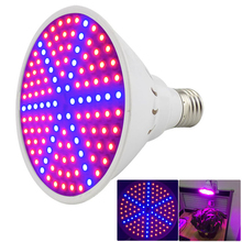 126 leds led Plant Grow light lamp E27 SMD 3528 growing lights 220V hydroponics green house bulb for flower vegetable lighting(China)