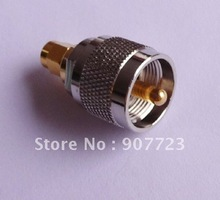 SMA Male To UHF PL259 Male RF Connector Adapter