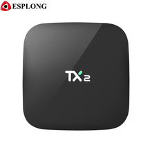 TX2 R2 Rockchip RK3229 Android 6.0 TV Box 2.4GHz WiFi Bluetooth Media Player HDMI LAN USB 1GB/2GB 16GB Smart TV Box PK A95X X96