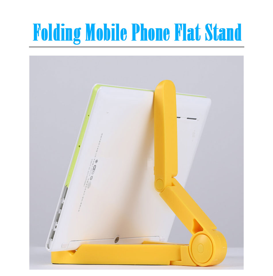 Mrs win Universal Foldable Phone Tablet Holder Desk Stand Adjustable Tripod Stability Support for iPhone iPad Pad Tablet Huawei 4