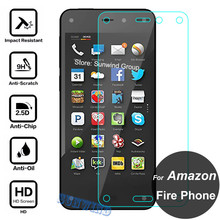 0.26mm Front LCD High Clear Explosion-proof Tempered Glass Film For Amazon Fire Phone LCD Screen Protector pelicula de vidro