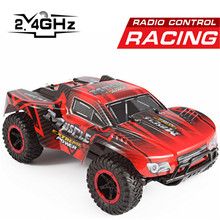 1:16 Scale RC Racing Car 4CH Off-Road Vehicle Four-wheel Drive 2.4G High Speed Car Model Rocking Climber Truck Children Gift ^