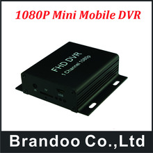 Mini Security DVR - SD Card Recording with Remote Control