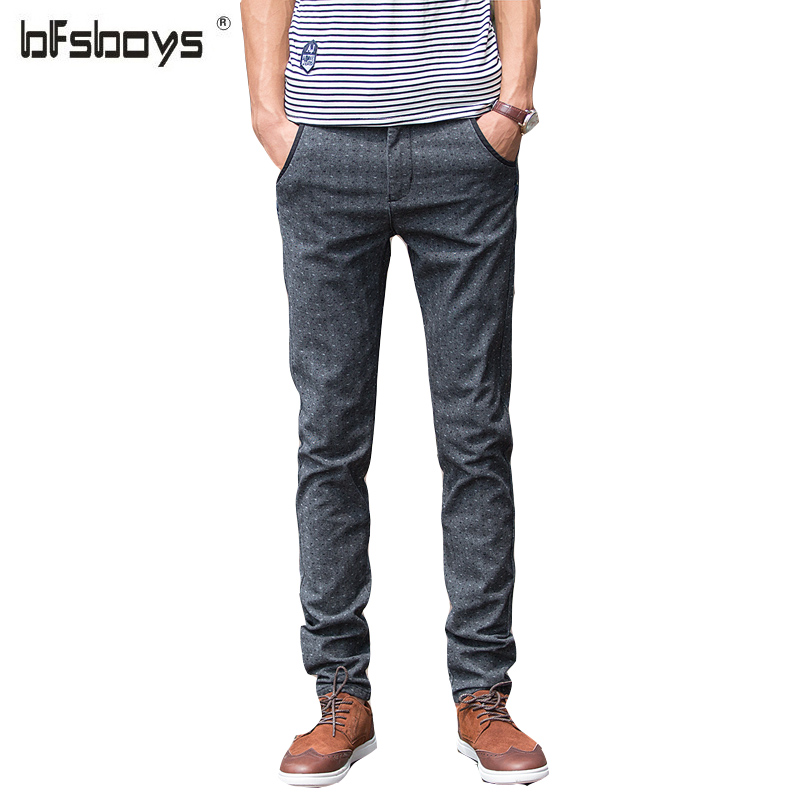 2017 new arrival spring High quality pure cotton mens gray light blue pencil jean many button skinny jeans men,plus-size 28-36Одежда и ак�е��уары<br><br><br>Aliexpress