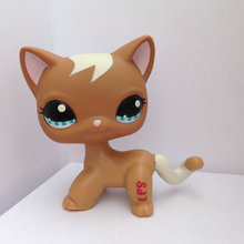 Pet Shop Animal Doll  Figure Child Toy Gril  Boy Short Hair  Cat  DWA279