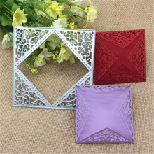 Metal cutting dies flower square Scrapbook card paper craft home decoration embossing stencil cutter
