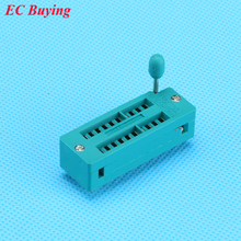 2PCS 20P ZIP Narrow IC Socket 2.54mm DIP Universal Test Socket 20 Pins