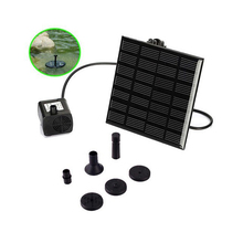 180L/H Brushless Solar Power Fountain Water Pump 7V Kit Pool Garden Fish Pond Watering Pump FREE SHIPPING