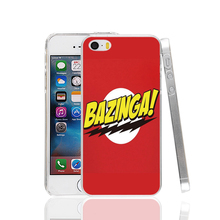 18883 The Big Bang Theory Bazinga Best Durable red Cover cell phone Case for iPhone 4 4S 5 5S SE 5C 6 6S Plus 6splus