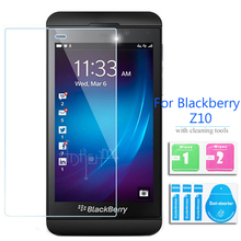 For Rim BlackBerry Z10 Tempered Glass Screen Protector 2.5 9h Safety Protective Film on Blackbarry Laguna STL100-3 4G 100-2 Lte