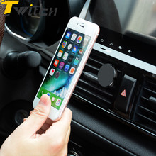 Buy Twitch Air Vent Mount Car Phone Holder iPhone 8 7 6 Samsung 360 Degree Magnetic Mobile car Holder Smartphone Holder Stand for $3.99 in AliExpress store