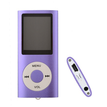 8GB MP3 Music Player FM Radio Ebook Sport player Slim 1.8' inch screen 4TH gen Voice Recorder(China)