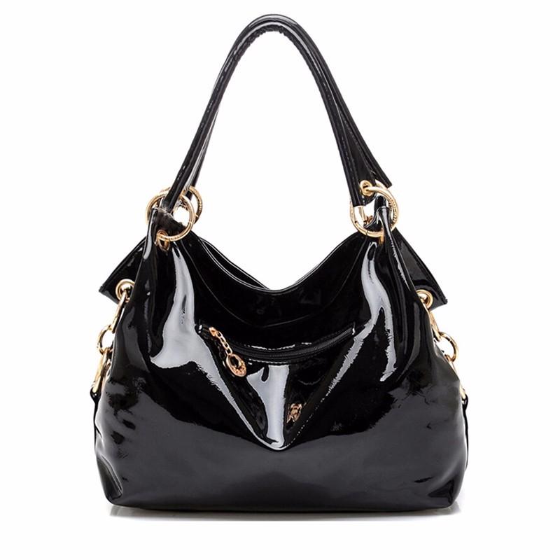shop sale Glisten Black studded Shoulder bag Leather Handbag