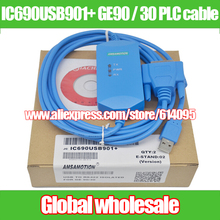 1pcs IC690USB901+ GE90 / 30 Series PLC programming cable / USB TO RS232 ISOLATED FOR GE 90/30 Electronic Data Systems(China)