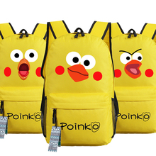 Cute Docomo Parrot Brother Poinko Point inko Chicken Backpack Bag Game Schoolbag Students Bag Cospaly Gifts(China)
