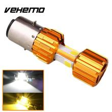 Vehemo Motorcycle Scooter 12W HID LED Headlight Motorcycle Accessories Headlamp(China)