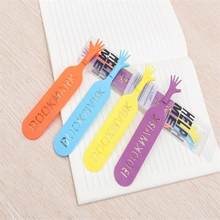 4pcs /set Cute Note Pad Memo Stationery Bookmark Help Me Novelty Bookmark Funny Bookworm Gift Stationery