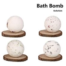 4x4x4cm Bath Bombs moisturizing Bath Bombs Ball Natural Sea Salt Lavender Bubble Essential Body Scrub random Color Cheap(China)