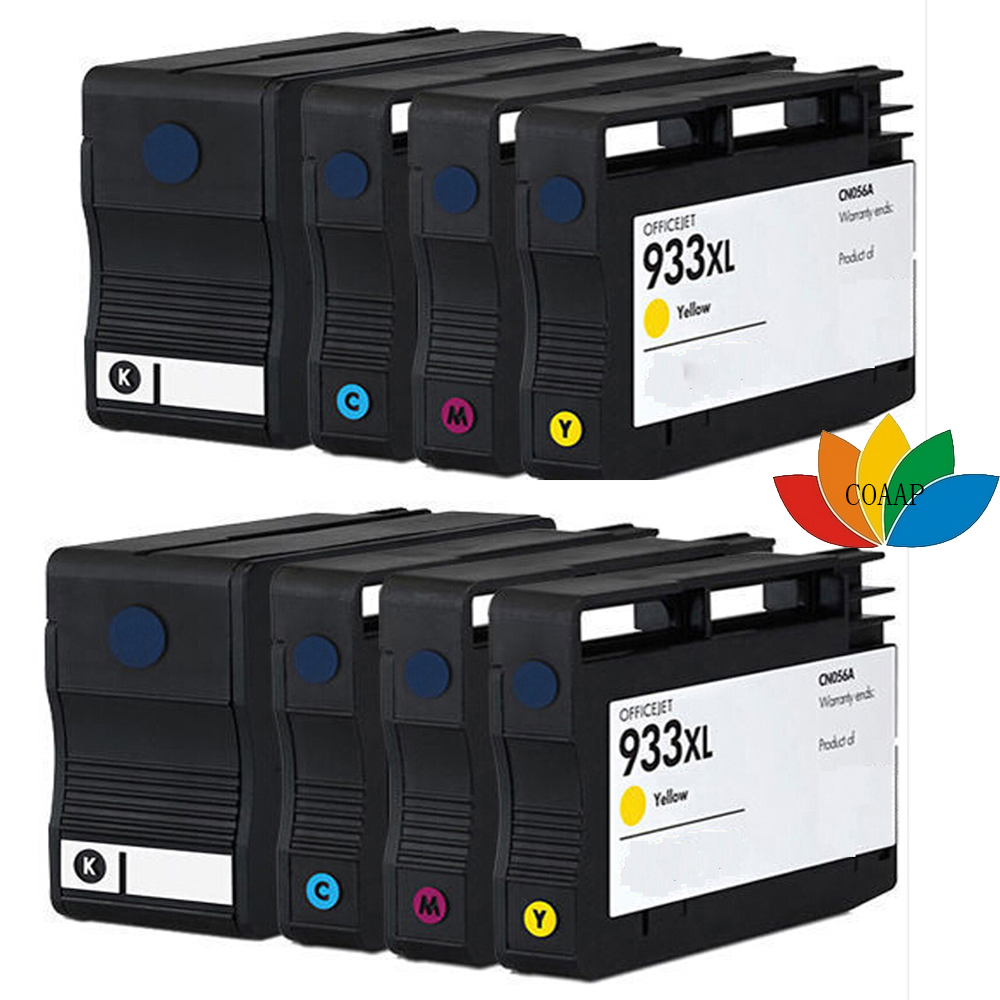 8 Compatible Ink Cartridge for HP932 HP 932 XL 933 XL for HP Officejet Pro 6100 6600 6700 7110 7610 7612 Printer with chip <br><br>Aliexpress