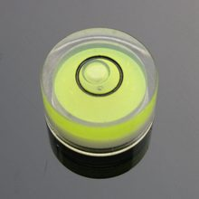 HACCURY 15*8mm Acrylic spirit level Camera Accessories mini spirit level Circular bubble level Balancing equipment