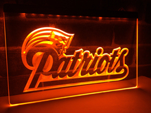LD071- New England Patriots Soccer   LED Neon Light Sign home decor  crafts