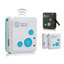 RF-V16 The Smallest Smart MINI GPS Tracker Long Standby Time SOS Dual Talk Platform Wearable Kids Child Elderly APP Tracking(China)