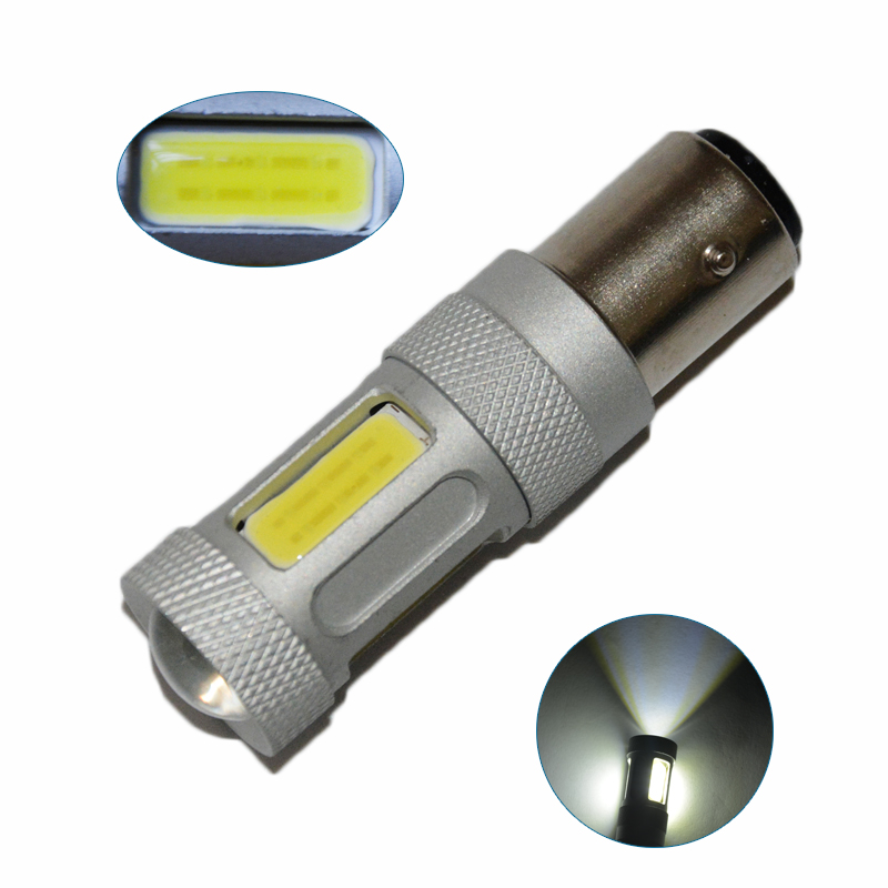 2pcs 80W BAY15D 1157 S25 COB Projector LED Replacement Bulbs For Car Front or Rear Turn Signal Lights Brake Blub Light <br><br>Aliexpress