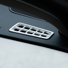 Accessiores! 2* ABS Matte Interior Dashboard Upper Air Conditioner Vent Cover for Toyota RAV4 2014 2015 2016 2017 Car -styling(China)