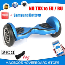 New intelligent SM battery APP control self balancing electric Hoverboard Motorized Ault big tire Gyroscope electrico scooter(China)