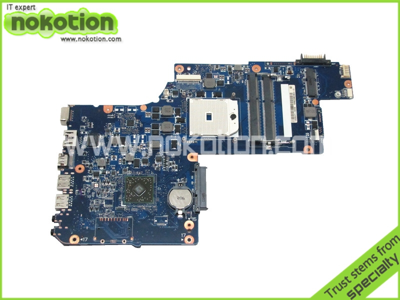 laptop motherboard for toshiba satellite C870D L870D H000043610 AMD A-series cpu AMD 218-0755097 DDR3<br><br>Aliexpress