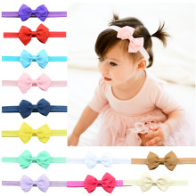 "DHL Free shipping, 300 pcs/lot , 2.95"" inch Ribbon Bow Headband, Classic headbands, You Pick Color"