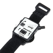 Golf Score Stroke Keeper Count Watch Putt Counter Shot With Wristband