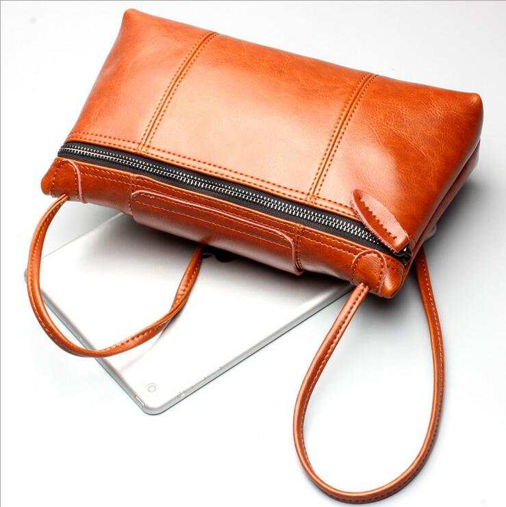 2017 Women Messenger Bags Genuine Leather Handbag Casual Women Bag Famous Brands Luxury Women Bag Designer Vintage Shoulder Bag <br><br>Aliexpress