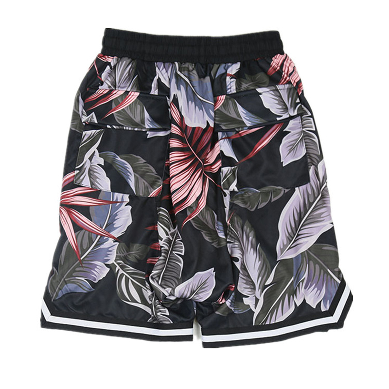 Summer Men Shorts Fashion flower Mens Shorts Casual Cotton baggy vintage Shorts beach Knee Length Shorts 2xl-6xl 7xl 8xl hiphop