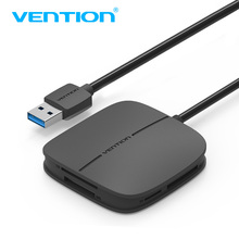 Vention SD Card Reader All in 1 USB 3.0 Micro SD TF Multi Memory Card Reader Support 256GB For Macbook Laptop Computer