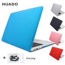 Laptop matte cases Hard Cover notebook case Macbook air 13.3 11,6/Mac pro 13.3 15 15.4 Retina/ macbook free dust plug