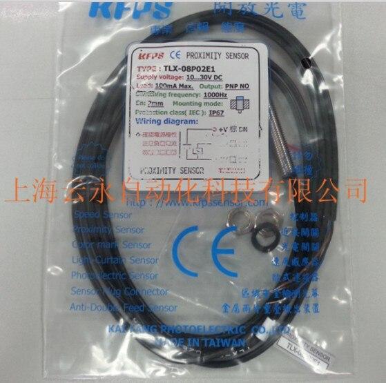 NEW  ORIGINAL TLX-08P02E1 Taiwan kai fang KFPS twice from proximity switch<br><br>Aliexpress