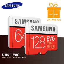 SAMSUNG Memory Card EVO+ 64GB 32GB 16GB EVO Plus SDHC SDXC Micro SD Grade EVO+ EVO Class 10 C10 Max Speed 95M/s Cartao De(China)