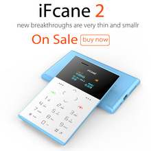 Original IFCANE E2 1.0 inch Quad Band Card Phone Bluetooth 2.0 FM Audio Player Sound Recorder Mobile Phone Russian keyboard(China)