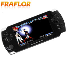G68 Free Shipping Hot Sale Handheld Game Player 8GB 4.3 Inch 1080P LCD Screen MP4 MP5 Players Games Console with 9000+ Game(China)
