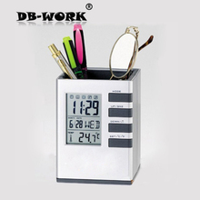 Hot sale Business gift Multifunctional calendar pen Holder office accessories Factory direct sale Free Shiping(China)