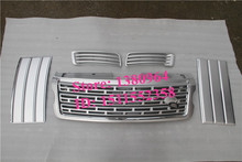 Front grill grille side mesh vent fog lamp light cover trim Suitable FOR Land Rover Range Rover 2013 2014 2015 2016 2017