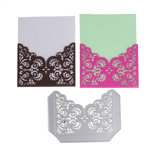 145*103mm New Customized Grilles Frame Embossing Carbon Steel Cut Die Stencils DIY Scrapbooking Card Album Template Craft(China)