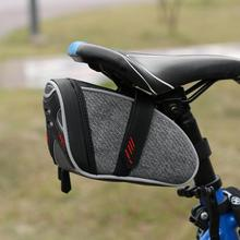 Buy Portable Waterproof Bicycle Saddle Bag NEW MTB Mountain Bike Rear Bags Cycling Seat Pouch Rear Seat Tail Bag Bike Accessories for $11.13 in AliExpress store