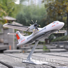 PLANE MODEL SCALE 1/100 COLLECTOR AIRCRAFT ATR 42-600 AIRLINER REPLICA