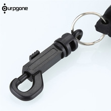 Outdoor Black Silicone Gel Archery Target Hunting Shooting Bow Arrow Puller Remover Keychain Equipment
